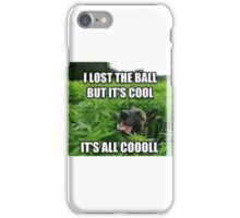 Dog weed German lost the ball iPhone Case/Skin