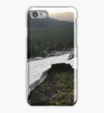 Mountain Snowfield  iPhone Case/Skin