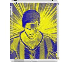 Golden boy Messi iPad Case/Skin