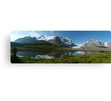 Athabasca...a Gigapan panorama Canvas Print