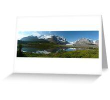 Athabasca...a Gigapan panorama Greeting Card
