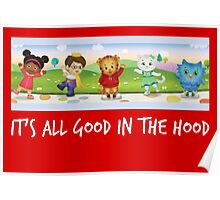 Daniel Tiger in white Poster