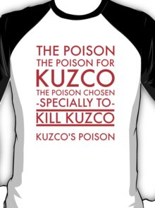 The Poison. in red T-Shirt
