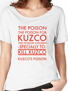 The Poison. in red Women's Relaxed Fit T-Shirt