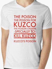 The Poison. in red Mens V-Neck T-Shirt