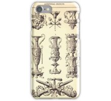 A Handbook Of Ornament With Three Hundred Plates Franz Sales Meyer 1896 0139 Artificial Objects Miscellaneous iPhone Case/Skin