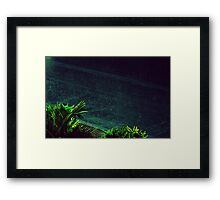 stars falls like dust our lips will touch  Framed Print