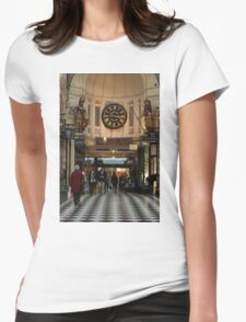 0351 Melbourne City Arcade Womens Fitted T-Shirt