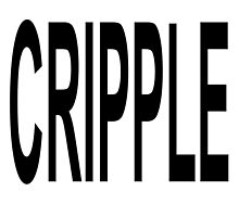 CRIPPLE (in Black font) by Abby Green