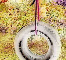 Ye Olde Tire Swing by kenspics
