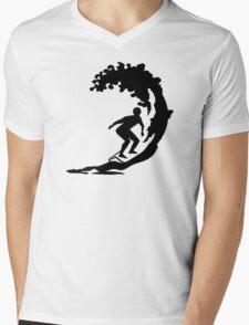 Surfing Mens V-Neck T-Shirt