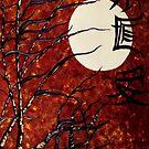 Oriental Moon  by AnimiDawn