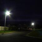 Street at Night by Joan Wild