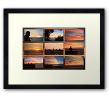Sunset On the Gulf ~ The Best Of the Rest  Framed Print