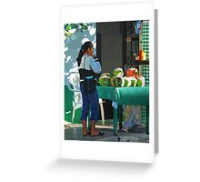 The Coconut Drinker Greeting Card