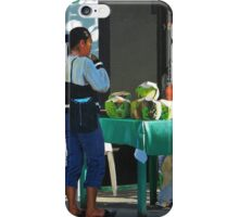 The Coconut Drinker iPhone Case/Skin