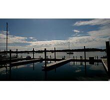 Waterfront, Beaufort, NC Photographic Print