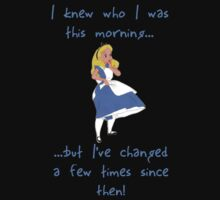 Alice in Wonderland (quote) T-Shirt