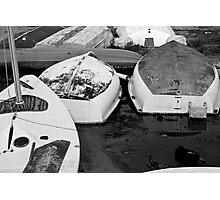 Boat Drop Photographic Print