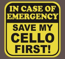 Cello Emergency by evisionarts
