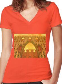 Arabian Delights Women's Fitted V-Neck T-Shirt
