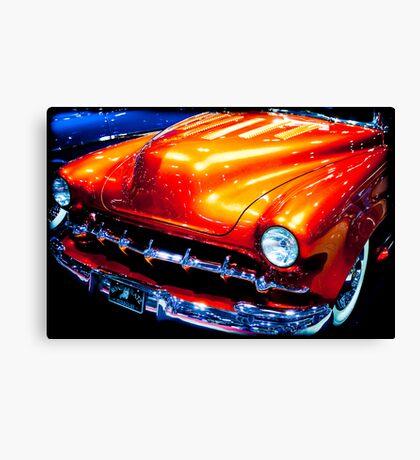 Tangerine Caddy Canvas Print