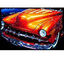 Tangerine Caddy Photographic Print