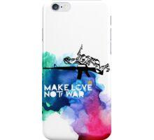 Make Love Not War M16 iPhone Case/Skin