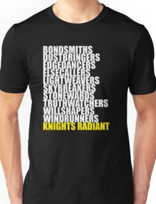 Orders of the Knights Radiant Unisex T-Shirt