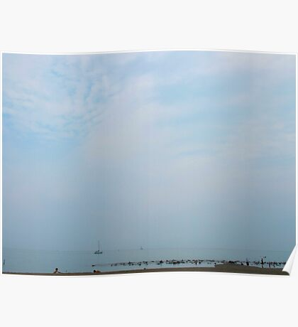 Blue days on Lake Ontario Poster