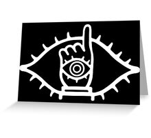 20th century boys inversed colour Greeting Card