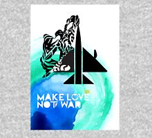 Make Love Not War Plane Unisex T-Shirt