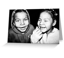 Toothless Smiles Greeting Card