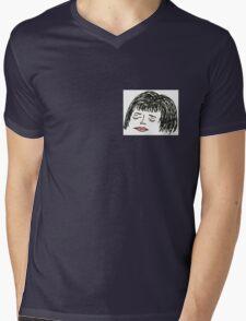 Morgan Portrait Mens V-Neck T-Shirt
