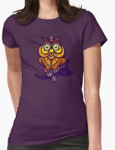 Dr. Hoot Womens Fitted T-Shirt