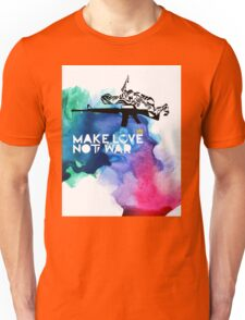 Make Love Not War M16 Unisex T-Shirt