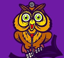 Dr. Hoot by artdyslexia