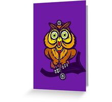 Dr. Hoot Greeting Card