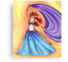 Fennec Fox Dancer Canvas Print