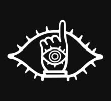 thin logo 20th century boys inversed colour by Dandyguy