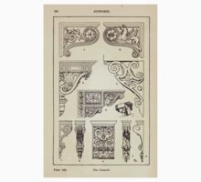A Handbook Of Ornament With Three Hundred Plates Franz Sales Meyer 1896 0254 Supports Console Baby Tee