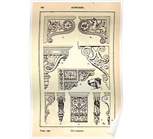 A Handbook Of Ornament With Three Hundred Plates Franz Sales Meyer 1896 0254 Supports Console Poster