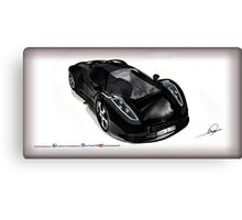 Omar Edition Car Canvas Print