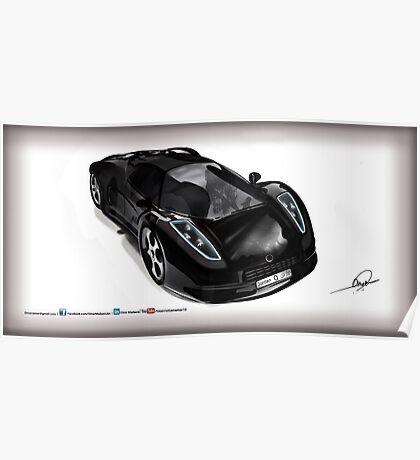 Omar Edition Car Poster