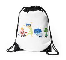 Inside Out Drawstring Bag