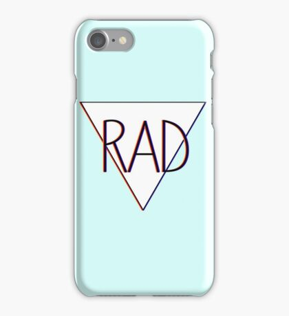3D effect 'RAD'  iPhone Case/Skin