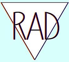 3D effect 'RAD'  by Daniel Bonney