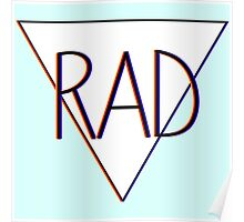3D effect 'RAD'  Poster