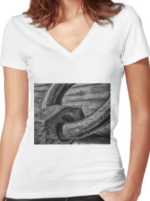 Heavy Union Women's Fitted V-Neck T-Shirt