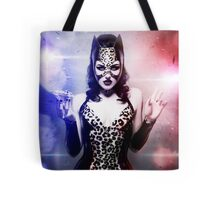 Catwoman - Caught in the act Tote Bag